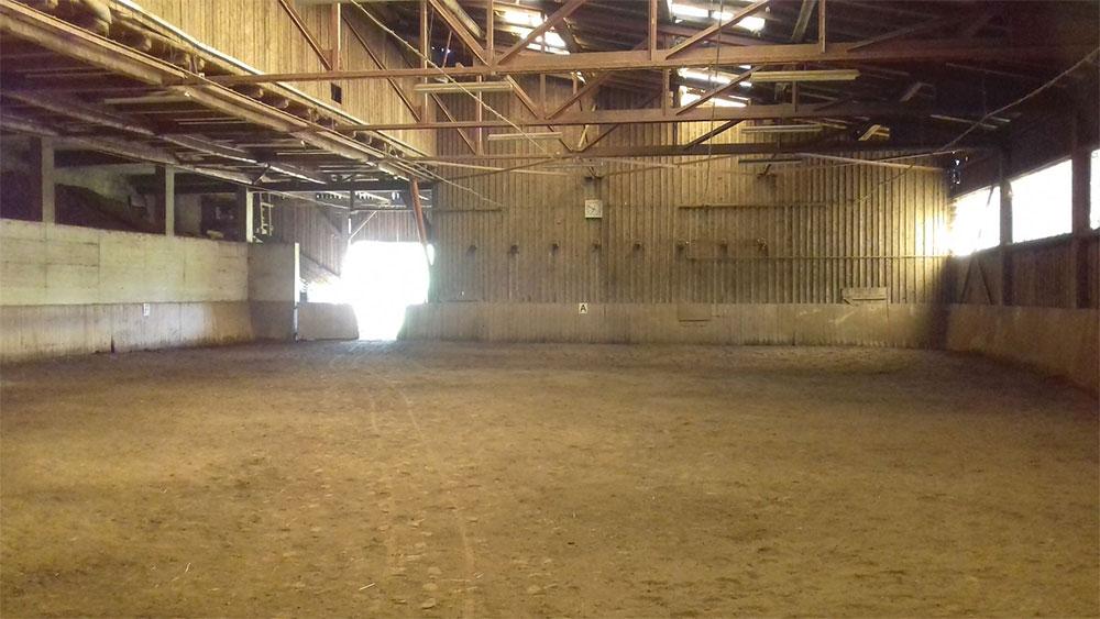 Reithalle für Pferdeeinsteller des Reiterhof Kaidern bei Feldkirchen in Kärnten