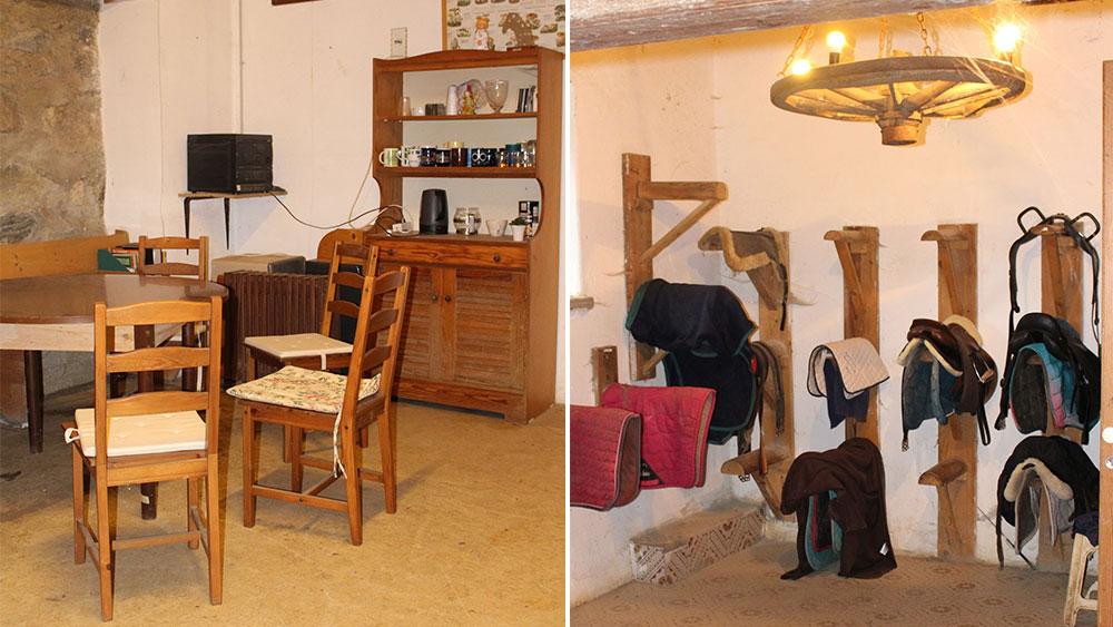Reiterstüberl und Sattelkammer des Reiterhof Kaidern bei Feldkirchen in Kärnten