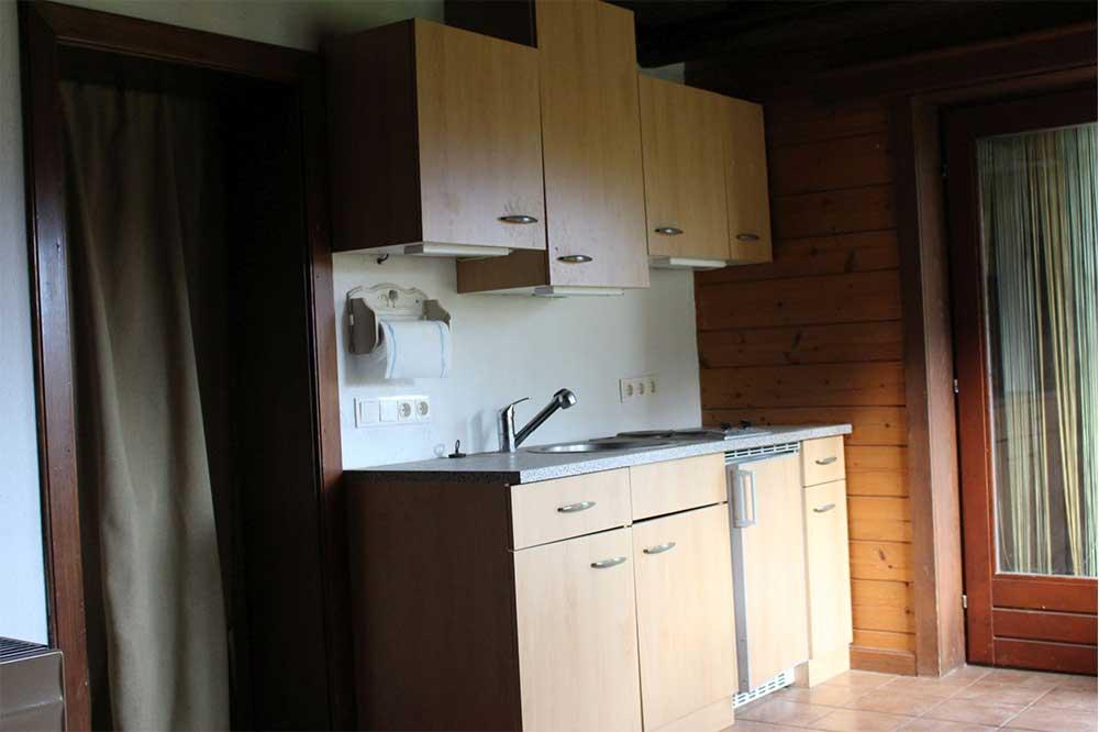 Küche im Ferienhaus Reiterhof Kaidern bei Feldkirchen in Kärnten